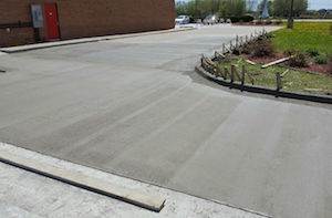 Concrete Pavement and Curbs
