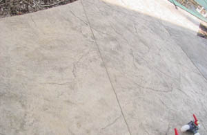 slate stamped patio plainfield