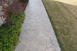 orchard stone colored walkway